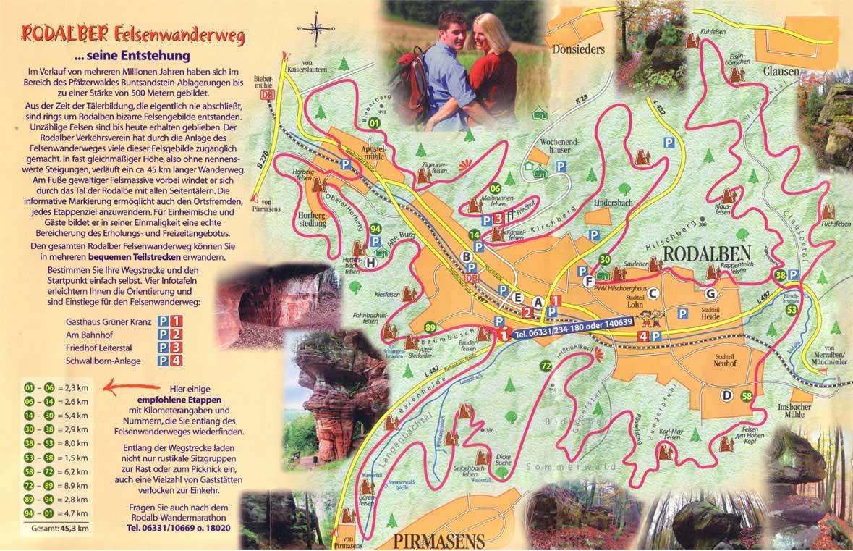 Wanderweg Rodalben | Rodalber Felsenwanderweg - Teilstrecke 2 | GPSies